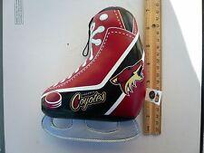 "NHL Phoenix Coyotes stuffed ice skate 7"" x 5.5"" - APR 2011 - Good Stuff - Used"