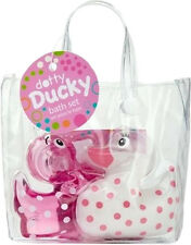 DOTTY Ducks Enten Gift Bag - BADESET Badekonfetti und Badezusatz