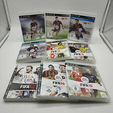 9x PlayStation 3 FIFA Spiele Sammlung Jahre 08-16 Fußball EA Sports Paket PS3