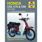 Honda C50 C70 C90 1967-2003 Haynes Workshop Manual