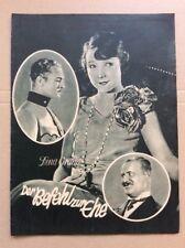 Befehl zur Ehe (BFK 942, 1928) - Dina Gralla / Stummfilm