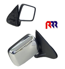FOR HOLDEN RODEO TF/UTE 97-03 DOOR MIRROR,CORNER MOUNT, MANUAL,CHROME-RIGHT SIDE