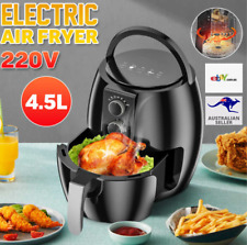 4.5L 1350W Air Fryer Electric Healthy Cooking Oil Free Kitchen Oven Airfryer