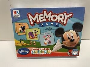 Mickey Mouse Clubhouse By Milton Bradley Memory Game 2007