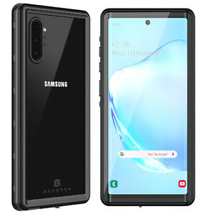 For Samsung Galaxy Note10 Plus Case Waterproof Note 10+ 5G with Screen Protector