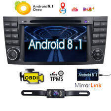 For Benz E-W211 Android 8.0 Car Stereo DVD GPS Navigation Player Radio 4-Core 4G