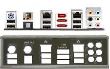 ATX Blende I/O shield Asus P5E WS P5E3 deluxe #60 P6T WS backplate NEU OVP io