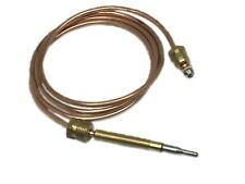 """GAS BURNER THERMOCOUPLE 900MM LONG 11/32"""" ASA BACKNUT C/W SECURING JUNCTION NUT"""