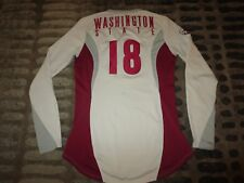 WSU Washington State Cougars Volleyball Team Game Used Nike Jersey Womens S