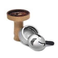 1 Set Phunnel Hookah Bowl Ceramic Shisha Narguile + Perfect Fit Charcoal Holder