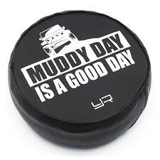 "Yeah Racing ""Muddy Day Is Good Day"" 1.9"" Rock Crawler Wheel / Tire Cover YA-0493"