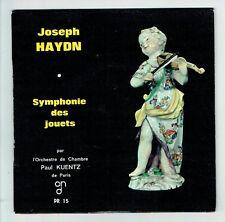 Joseph HAYDIN Vinyle 45T EP SYMPHONIE DES JOUETS Orch. Chambre Paul KUENTZ Paris