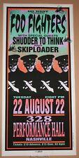 Foo Fighters Mark Arminski Nashville Poster Print Signed 1995