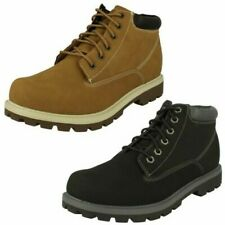 Mens Skechers Lace Up Ankle Boots Amado