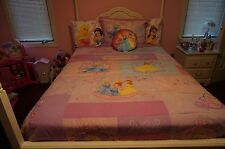 Disney Princess Bedroom full size set in excellent condition!