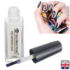 TRANSFER FOIL ADHESIVE NAIL GLUE  Star For Paper White Clear 10ML