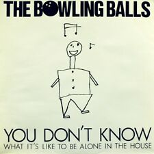 """7"""" THE BOWLING BALLS You Don't Know / R-Dance ARIOLA Belgium Punk New Wave 1981"""