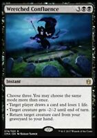 1x WRETCHED CONFLUENCE - Commander - MTG - NM - Magic the Gathering
