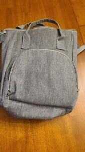 Enfamil Grey Wonder Baby Backpack-Versatile Insulated Formula/Cooler/ Diaper Bag