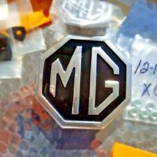 """New MG Badge Front Bumper """"MG"""" for MGB and MG Midget 1970-1980 Metal"""