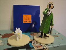 Hergé Figurine – Lisez Tintin – « Tournesol et Milou »  Moulinsart