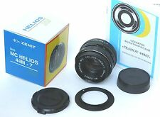 Helios 44M-7 MC lens f/2/58mm Nikon,6 blades,new-old,production year:before 1990