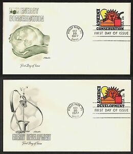#U584 & U585 13c Energy Conserv/Develop, Artmaster FDC **ANY 4=FREE SHIPPING**