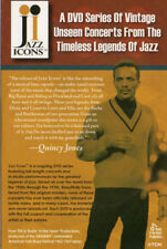 "QUINCY JONES - THELONIOUS MONK - CHET BAKER FITZGERALD ""JAZZ ICONS"" DVD SAMPLER"