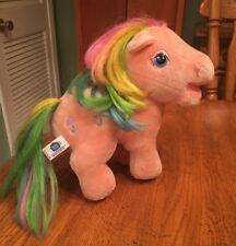 My Little Pony Parasol Pink Umbrella Vintage Plush Stuffed Animal Hasbro 1984