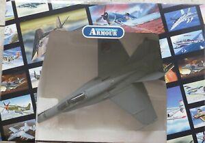 FRANKLIN MINT ARMOUR COLLECTION  FA18  HORNET RAAF    B11E328    1:48 SCALE