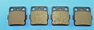 Front and Rear Brake pads fits Honda 250 TRX250X Fourtrax 1987 1988 1991 1992
