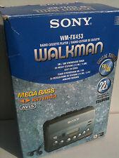 SONY WM-FX453 Walkman Radio Cassette Player NEW!NEU! Kassettenspieler headphones