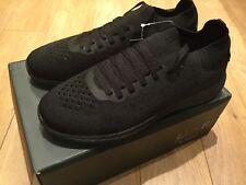 Mens Luke Trainers Shoes Black Size 8