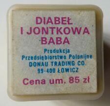 Bajka na rzutnik projektor Diabeł i Jontkowa Baba  Dębowscy Anna, Krzysztof 1983