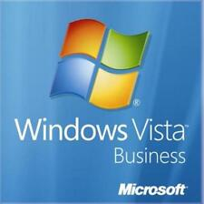 Windows Vista Business 32 bit Ed SP2 Full Install DVD & Key