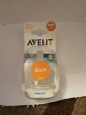 PHILIPS AVENT Airflex Fast Flow Nipple BPA FREE Soft Silicone PACK OF 2