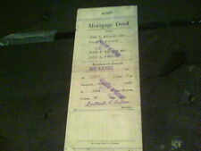 Aug 13, 1928 Mortgage Deed from Ewen R. Mallory Perry, Lake County, Ohio s16