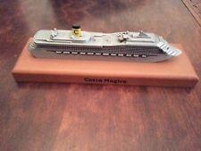 Modellino nave Costa Magica da collezione pari al nuovo Costa Crociere