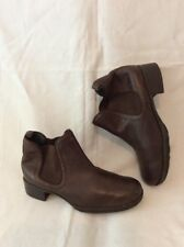 Footglove Brown Ankle Leather Boots Size 5