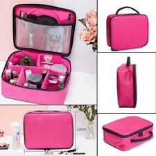 Women Makeup Bag Cosmetic Case Storage Handle Travel Organizer Bags Artist Kit