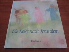 E772) viejo hermoso libro para niños el viaje a jerusalén sigeko Yano EA 1990