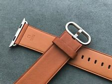 Genuine Original Apple Watch Band Saddle Brown Classic Buckle 42mm (2nd version)