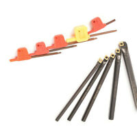 Lathe Boring Bar Turning Tool Holder 5pcs Carbide Inserts 5pcs Wrench Tools Set
