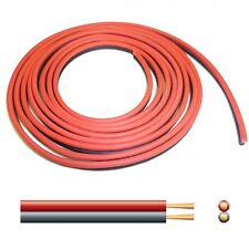 6A Automotive DC Power Cable - Twin Core Figure '8' 12V Black/Red - per 2 metres