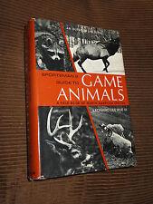 Sportman's Guide To Game Animals by Leonard Lee Rue III 1971 HC/DJ