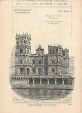 Pavillon Royal d'ESPAGNE Expo 1900 Paris 1898 - Raguenet Architecture - 59