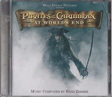 HANS ZIMMER - PIRATES OF THE CARIBBEAN AT WORLD'S END. Film Soundtrack (CD 2007)