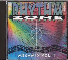 RHYTHM ZONE Megamix Vol. 1 CD Amadeus Mozart & Guy Garrett
