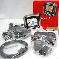 TomTom RIDER 2 Motorcycle 2nd Edition Tom GPS Navigator USA CANADA MAPS bike -A-