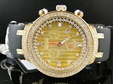 New Mens Joe Rodeo Jojo Master Edition 242 Real Diamond Watch 2.2 Ct Jjm94